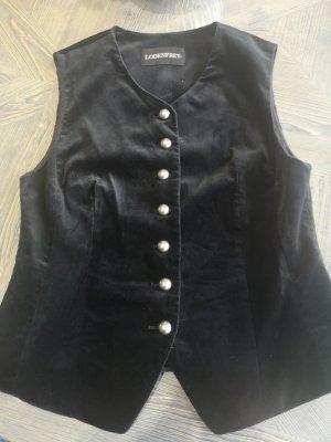 Lodenfrey Gilet bavarois noir-argenté