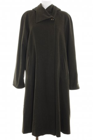 Lodenfrey Cappotto in lana cachi elegante