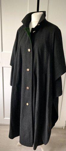 Lodenmantel Wintermantel Admont Größe 38 40 grau anthrazit langer Mantel