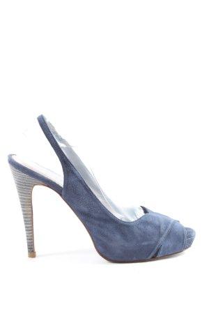 Lodi High Heels blau Party-Look