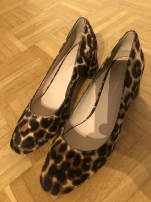 LOEFFLER RANDALL 'Jane' Leopard Pumps US 9 1/2