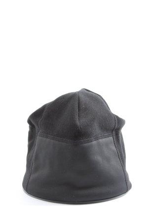 Löffler Sombrero de tela negro look casual