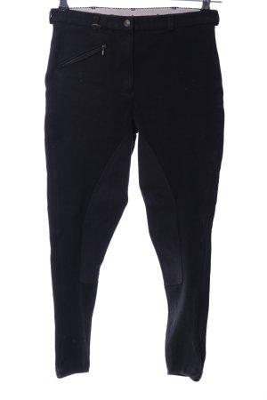 Loesdau Pantalone da equitazione nero stile casual