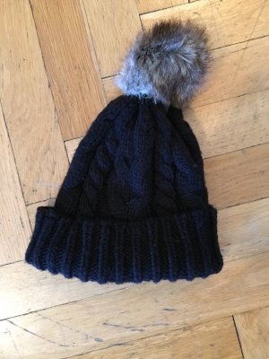 Loevenich Knitted Hat black polyacrylic