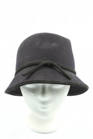 Loevenich Cloche Hat black casual look