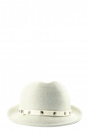 Loevenich Sun Hat natural white weave pattern casual look