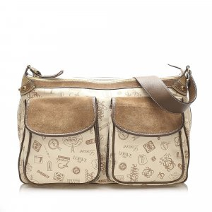 Loewe 160th Anniversary Canvas Crossbody Bag