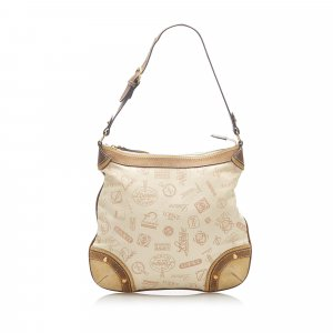 Loewe 160th Anniversary Canvas Shoulder Bag