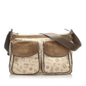 Loewe 160th Anniversary Canvas Shoulder Bag