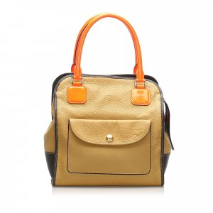 Loewe Alta Leather Tote Bag