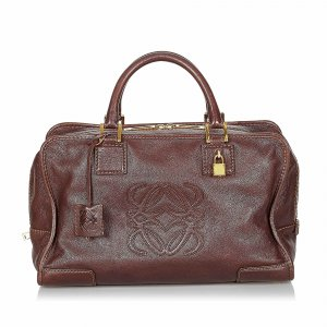 Loewe Handbag dark brown leather