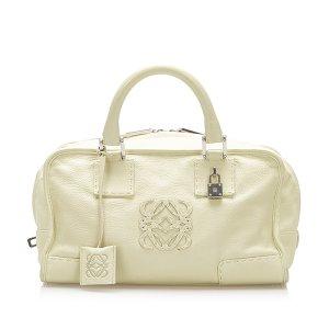 Loewe Handbag white leather
