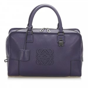 Loewe Amazona Leather Handbag