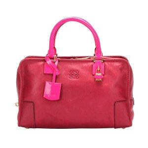 Loewe Handbag pink leather