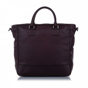 Loewe Amazona Leather Satchel