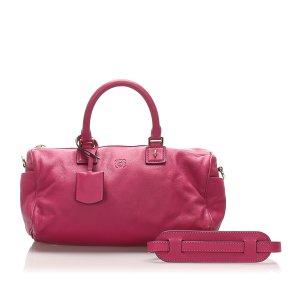 Loewe Sacoche rosé cuir