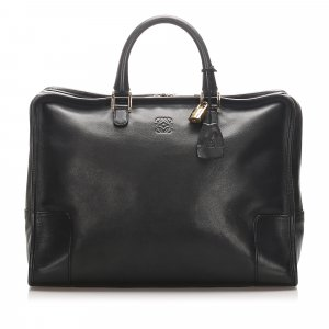 Loewe Amazona Leather Tote Bag