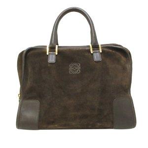 Loewe Handbag dark brown suede