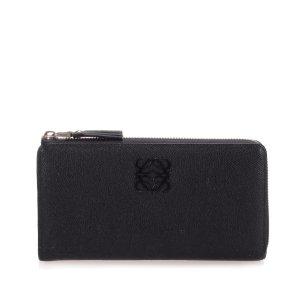 Loewe Wallet black leather