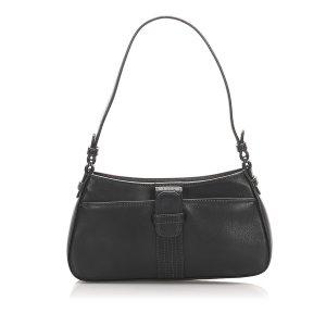 Loewe Anagram Leather Baguette