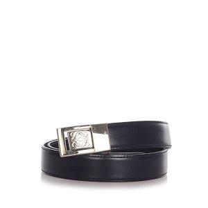 Loewe Belt black leather