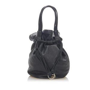 Loewe Anagram Leather Bucket