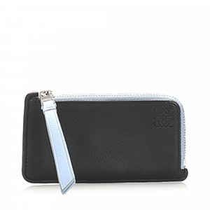 Loewe Anagram Leather Coin Pouch