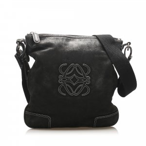 Loewe Anagram Leather Crossbody Bag