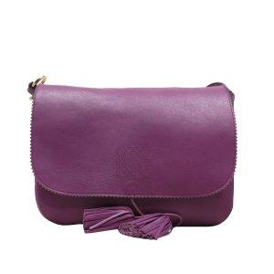 Loewe Crossbody bag purple leather