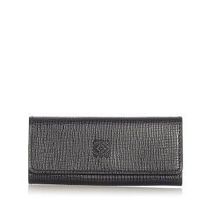 Loewe Key Case black leather