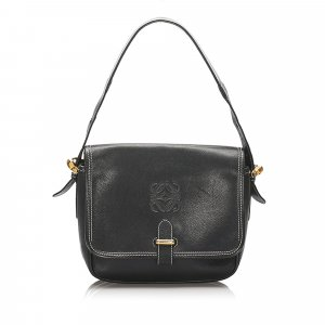 Loewe Anagram Leather Shoulder Bag