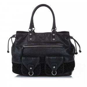 Loewe Tote black leather