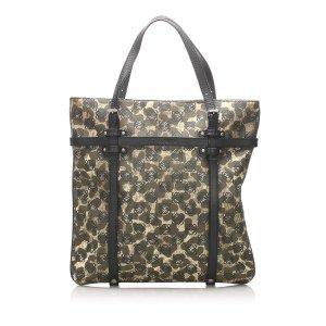 Loewe Anagram Leopard PVC Tote Bag
