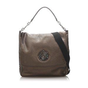 Loewe Anagram Maia Leather Shoulder Bag