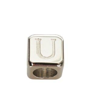 Loewe Porte-clés noir cuir
