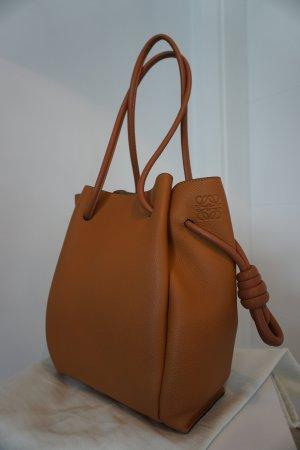 LOEWE Flamenco Knot Tote Small Bag Tan 100%Original NP1750