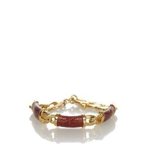 Loewe Bracelet red metal