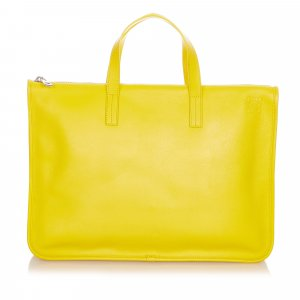 Loewe Business Bag yellow leather