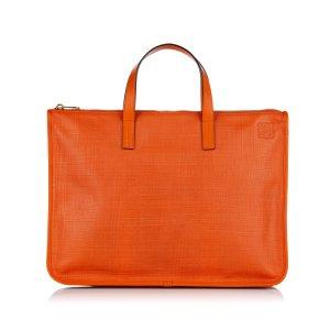 Loewe Bolso business naranja Cuero