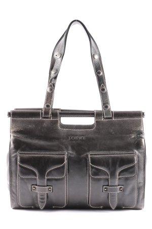 Loewe Handtasche schwarz Casual-Look