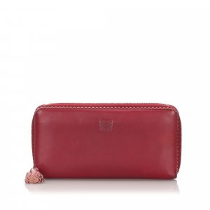 Loewe Leather Amazona Long Wallet