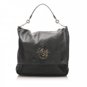 Loewe Leather Anagram Tote Bag
