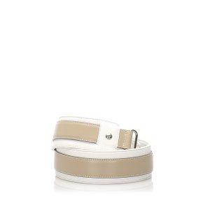 Loewe Cinturón beige Cuero