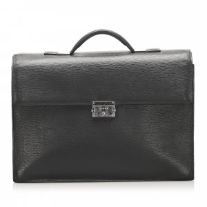 Loewe Business Bag black leather