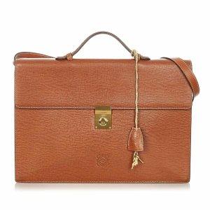 Loewe Bolso business marrón Cuero