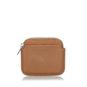 Loewe Wallet brown leather