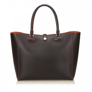 Loewe Tote brown leather