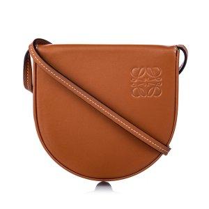 Loewe Leather Mini Heel Saddle