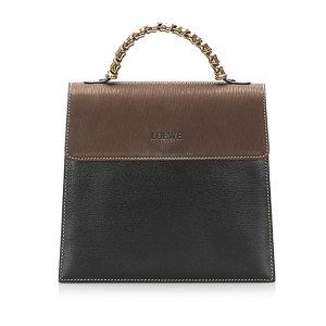 Loewe Leather Satchel
