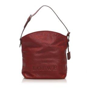 Loewe Shoulder Bag orange leather